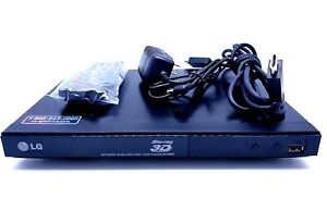 LG 3D Blu-Ray Disc DVD Player BP335W w/ New Remote, New AC Adapter, &HDMI-Tested
