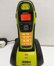 UNIDEN Dect 6.0 WATERPROOF DWX207 Submersible Cordless Wireless Phone Set Lime