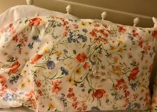 Pottery Barn Floral Pillowcase - Standard Set/2