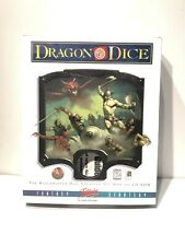 Vintage 1997 Dragon Dice Interplay Fantasy Strategy Game For Windows 95