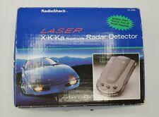 Radio Shack Radar Detector Laser SW 22-1666 X K KA Superwide City Highway Works!