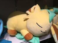 Pokemon stuffed animal Suyasuya Series Leafeon Center Limited eeveelution BIG