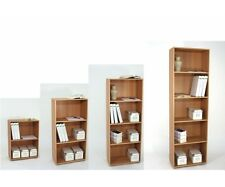 Regal Stauraumregal Bücherregal Holzregal Office Buche +Alle Grössen wählbar+