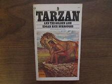 1972 Tarzan And The Golden Lion Edgar Rice Burroughs Ballantine 03007 VG/FN