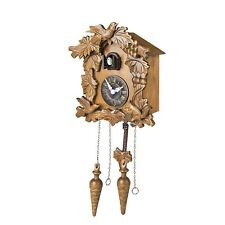 Kendal Handcrafted Wood Cuckoo Clock 10'' X 9'' X 6'' inch MX211