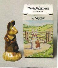 """Wade Rabbit """"Pets"""" Whimsies Land Set 1, 1984 With Orginal Box"""