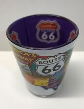 Route 66 Shot Glass Shotglass Whiskey America's Highway USA Map Main Street