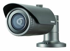 SAMSUNG QNO-6030R 2MP FULL HD OUTDOOR IR LED 6MM POE CCTV SECURITY BULLET CAMERA