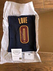 KEVIN LOVE Signed Autographed Authentic Cavs Jersey Alternate Swingman UDA COA