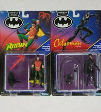 *NEW IN BOX* SEALED Batman Returns LOT of 2! Robin & Catwoman. Vintage Kenner