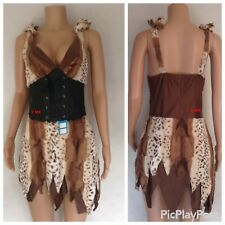 CAVE GIRL OUTFIT HALLOWEEN COSTUME PREHISTORIC WOMAN FLINTSTONE CAVE WOMAN