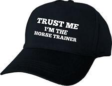 MI sto TRUST il cavallo Trainer Berretto Da Baseball Personalizzato Regalo Di Compleanno