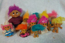 "6-9"" Troll Dolls Dam Other Duck Tuxedo Baby 1986 Vintage Toy"