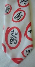 "Vintage Zippo ""TOTAL WAY OF LIFE"" Polyester Tie LOGO From 1978 Sales Seminar GA"