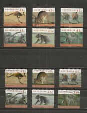 Australia, 2 different endangered mammals sets used