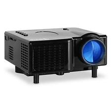 MINIPROYECTOR LED VGA AV PROYECTOR PORTATIL 12V AUX TV REPRODUCTOR DVD PC