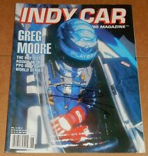 Greg Moore Signed Autographed Indy Car Magazine 1996
