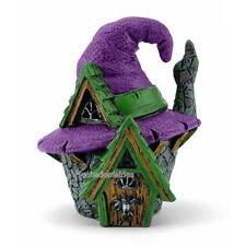Miniature Fairy Garden Micro Mini Witch Hat House 17526