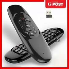 RECHARGEABLE WIRELESS REMOTE FLY AIR MOUSE KEYBOARD FOR XBMC GOOD MXQ M8 TV BOX.