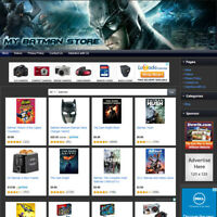 BATMAN STORE - Online Affiliate Website Business For Sale, Free Domain + Hosting