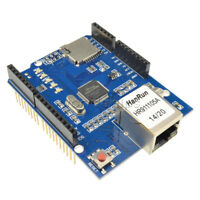 Redesign Ethernet Shield W5100 R3 Network Expansion Board For Arduino UNO