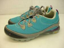 Women's sz 8 M Ahnu Sugarpine Air Mesh Viridian Green Sneakers Shoes Waterproof
