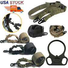 Tactical 2 Point/One Single Point Sling/Sling Mount Adapter For 15 223 Rifle Gun