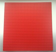 "LEGO RED BASEPLATE (Base Plate Board) 32x32 Pin 10 "" x 10 "" - BRAND NEW"