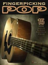 Fingerpicking Pop: 15 Songs Arranged For Solo Guitar by Various | Paperback Book