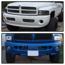 1994-2001 Dodge Ram Pickup Super White LED Bumper Fog Lights w/Switch 94-01