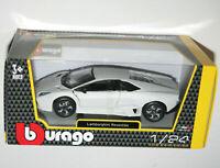 Bburago Lamborghini Reventon Flat White 1:24 Scale Model Diecast Car