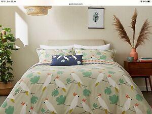 Scion Living Love Birds King Sized Duvet Set Brand New RRP £95