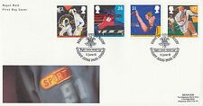 (01435) GB FDC Sport Rugby Cardiff Arms Park 11 Juni 1991