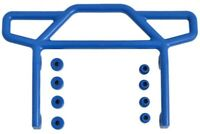 New RPM Traxxas Electric Rustler Blue Rear Bumper 70815