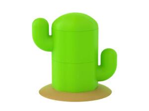 Hikalimedia Cute Cactus Salt & Pepper Shaker Pot 13206