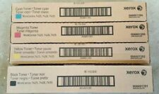 4PK Genuine Xerox WorkCentre 7425 7428 7435 High Yield New Sealed Boxes