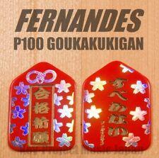FERNANDES P-100 GOUKAKUKIGAN 1.0mm Homeplate Guitar Pick x 3 Picks From Japan