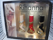 3pc Gift Set Rihanna NUDE Rebelle REB'L FLEUR 0.5 oz Ea EDP Women NIB (504)