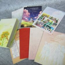 CLANNAD AFTER STORY Ltd Art Set KEY Lot of 7 Book in Case See Condition