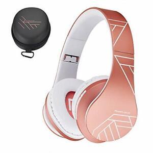 Powerlocus Bluetooth Over-Ear Kopfhörer, wireless Stereo Faltbar Kopfhörer