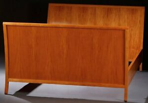 Charles Pfister Sleigh Bed - Vintage BAKER Furniture - RARE