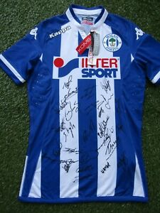 Wigan Athletic Hand Signed 2021/2022 Squad - 26 Autographs  Lang Keane Aarsgaard