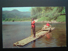 Jamaica Rafting on the Rio Grande near Port Antonio 50s