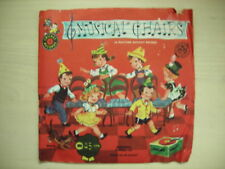 Vintage Cricket Record MUSICAL CHAIRS 45rpm 50s