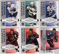 07-08 Ultimate Tom Gilbert /499 Rookie Oilers Upper Deck 2007