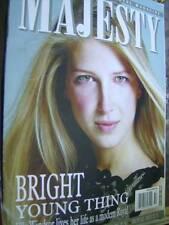 Majesty Magazine V25 #10 Ella Windsor, Young Royals Living Together, William & H