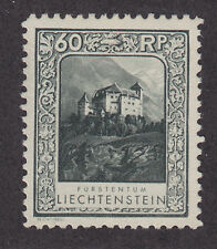 Liechtenstein Sc 103 MNG. 1930 60rp Gutenberg Castle, Perf 10½, F-VF