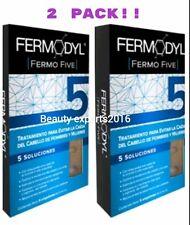 2 PACK! FERMODYL FERMO FIVE TREATMENT 6 AMPULES 6ml Ea./ 6 ampolletas 5 solucion