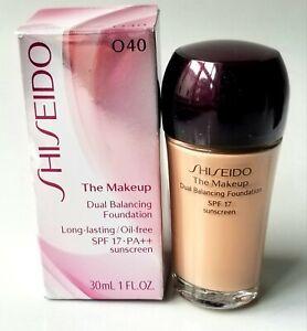 Shiseido The Makeup Dual Balancing Foundation O 40 O40 Natural Fair Ochre SPF17