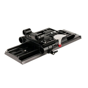 CAMTREE 19mm/15mm Base Plate With Dovetail Tripod Plate for ARRI Standard camera